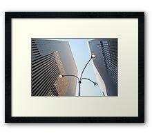 Corporate World Framed Print