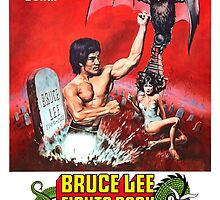 Bruce Lee fights back from the Grave by zeebigfella