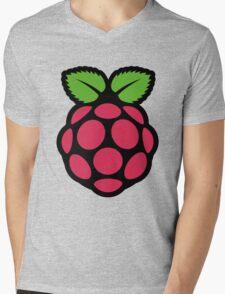 raspberry pi  Mens V-Neck T-Shirt