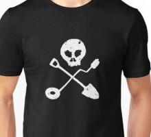 Detectorist Skull - Sondengaenger Schaedel  Unisex T-Shirt