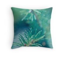 Winter Fresh.  Throw Pillow