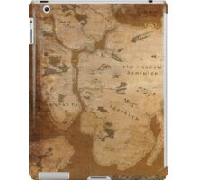 Fantasy Map of New York City: Gritty Parchment iPad Case/Skin