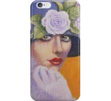 A GLAMOROUS VINTAGE LADY iPhone Case/Skin