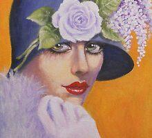 A GLAMOROUS VINTAGE LADY by Dian Bernardo
