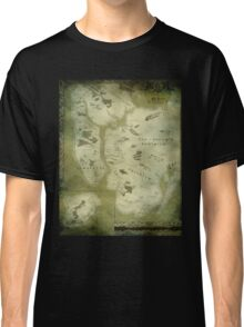 Fantasy Map of New York City: Green Parchment Classic T-Shirt