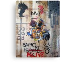 In memory Basquiat Canvas Print