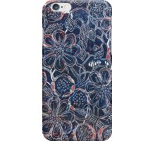 Flowers 21 - Aussie Tangled Monoprint iPhone Case/Skin
