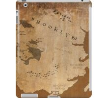 Fantasy Map of Brooklyn: Gritty Parchment iPad Case/Skin