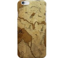 Fantasy Map of Seattle: Brown Parchment iPhone Case/Skin