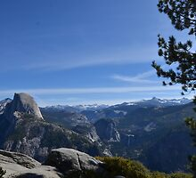 Half Dome from Glacier Point by Pete Johnston