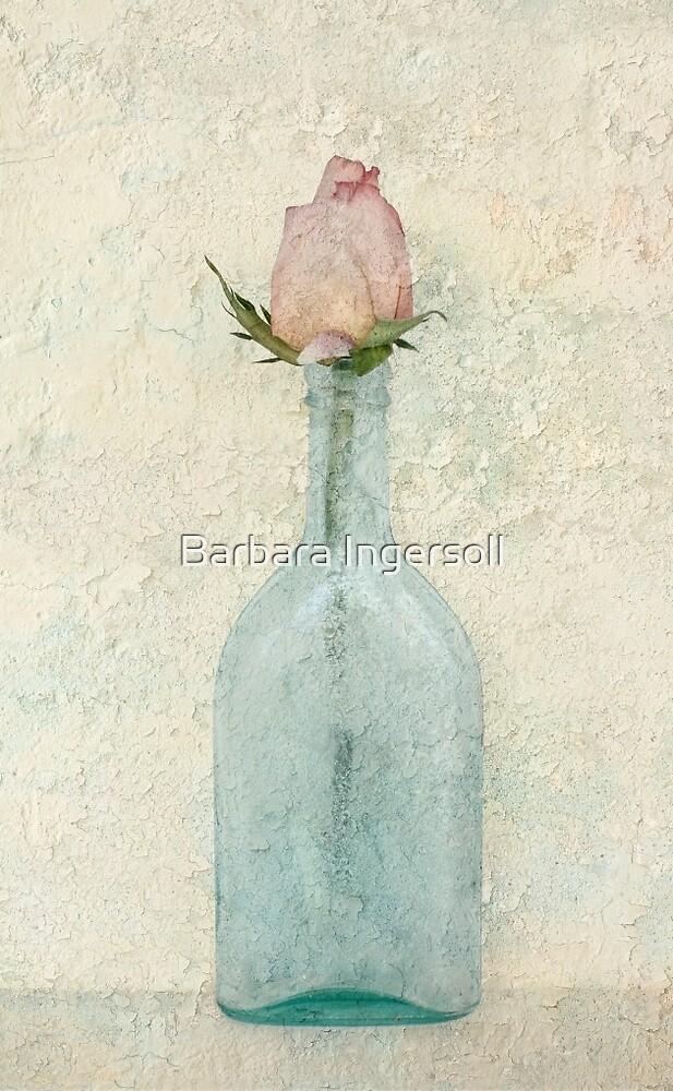 Rose Bottle by Barbara Ingersoll