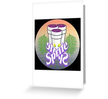 Sprite life Greeting Card