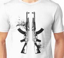 AKs in Black Unisex T-Shirt