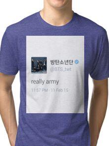 bts really army Tri-blend T-Shirt