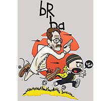 Breaking Bad Calvin And Hobbes Photographic Print