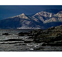 Mountain of Cap Corse Photographic Print