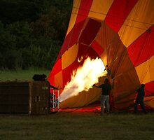 "The ""hot"" in hot-air balloon by Wazi"