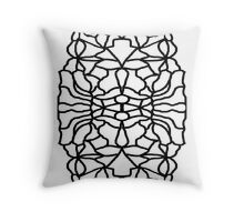 OWL FOR COLOURING-IN  Throw Pillow
