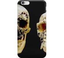 Two Skulls  iPhone Case/Skin