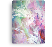 Lilies Abstract Canvas Print
