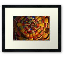 Technicolor Flight Framed Print