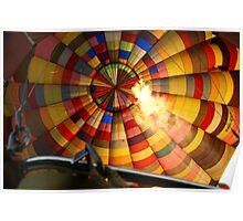 Technicolour Flight - with heat Poster