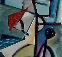 KITE FLYING(C2012) by Paul Romanowski