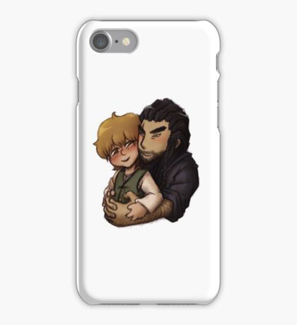 Bagginshield - Cuddles from Behind iPhone Case/Skin