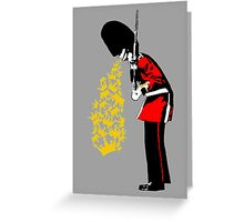 Puke Royal Guard (digital remastered version) Greeting Card