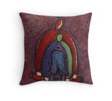Me The Wife and Her Mother Throw Pillow