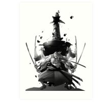 One piece anime manga rornoa Zoro shirt Art Print