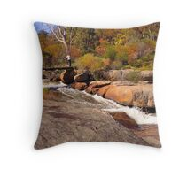 Hovea Falls - another angle Throw Pillow
