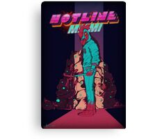 Hotline Miami Jackets Slaughter  Canvas Print