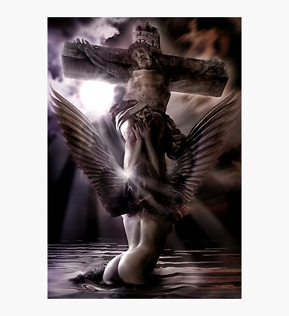 My Angel Gabriel Photographic Print