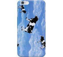 Falling Cows iPhone Case/Skin