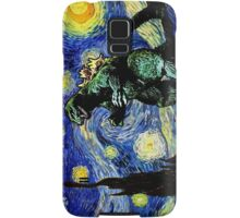 Godzilla versus Starry Night Samsung Galaxy Case/Skin