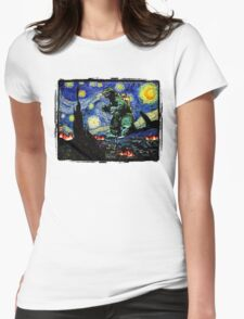 Godzilla versus Starry Night T-Shirt