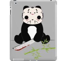 Machete Wielding Panda  iPad Case/Skin