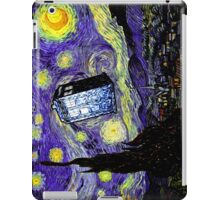 The Tardis in the Starry Night iPad Case/Skin