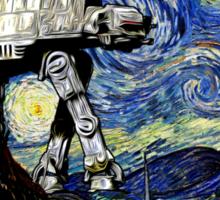 Starry Night versus the Empire Sticker