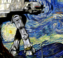 Starry Night versus the Empire Sticker