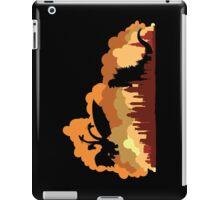 Godzilla versus Ghidorah cityscape iPad Case/Skin