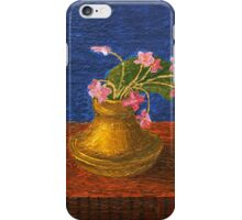 Bouquet of violets iPhone Case/Skin