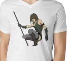 Super Hero Woman Mens V-Neck T-Shirt