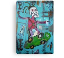 untitled (skater) Canvas Print
