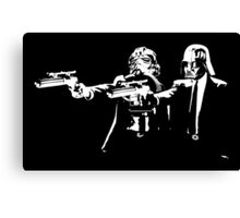"Darth Vader - Say ""What"" Again! Version 2 Canvas Print"