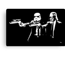 "Darth Vader - Say ""What"" Again! Version 3 Canvas Print"