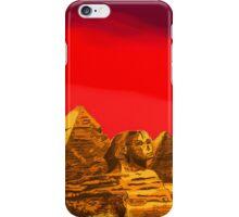 Pyramids of Giza in Summer iPhone Case/Skin