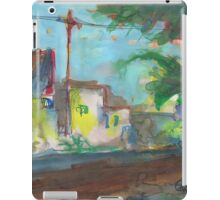 BACK ALLEY WITH PALMS(03.08.2011) iPad Case/Skin