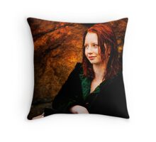 Christie Wright Throw Pillow